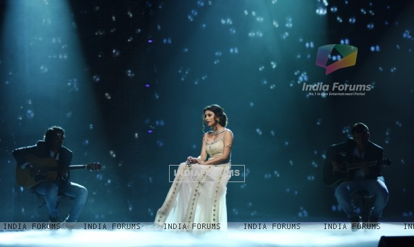 Mouni Roy performs at Opening of India's Got Talent 6