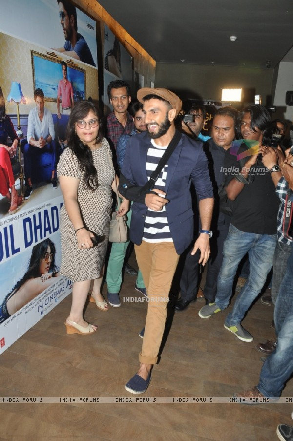 Handsome Ranveer Singh At Trailer Launch of Dil Dhadakne Do