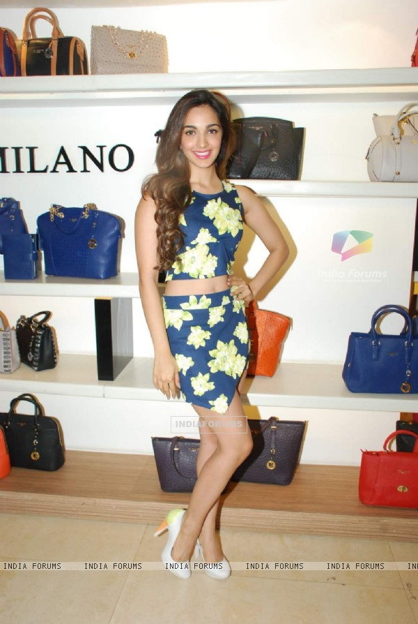 Kiara Advani launches Da Milano's Spring Summer Collection
