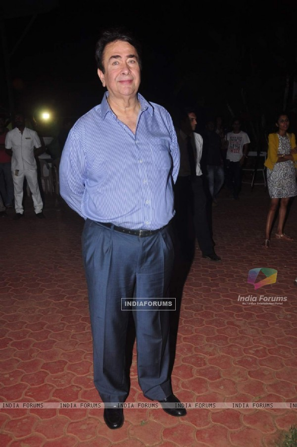 Randhir kapoor at Camby Tiger Cup