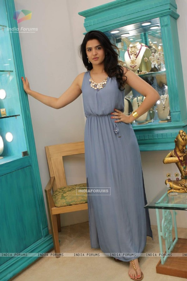 "Deeksha Seth poses at Mitaali Vohra's ""The Bohemian"" Flagship Store In Mumbai"
