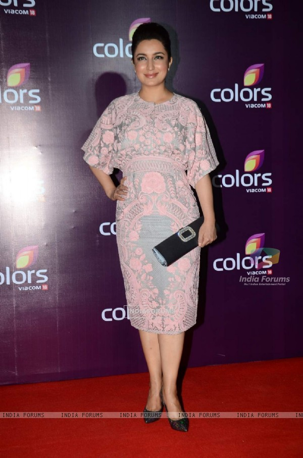 Tisca Chopra at Color's Party