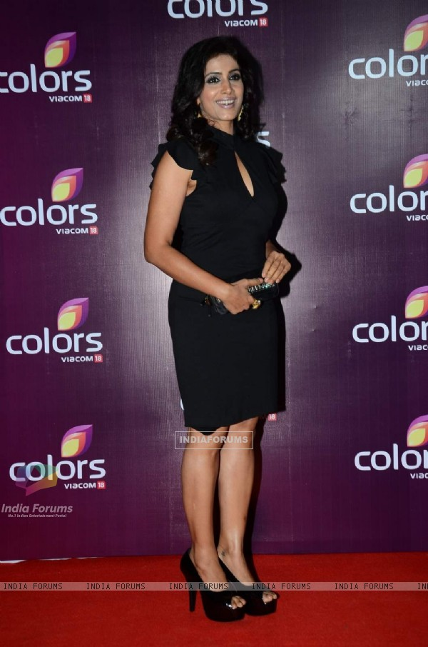 Sonali Kulkarni at Color's Party