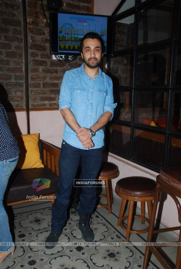Siddhant Kapoor at the Launch of  Movie Bombariya