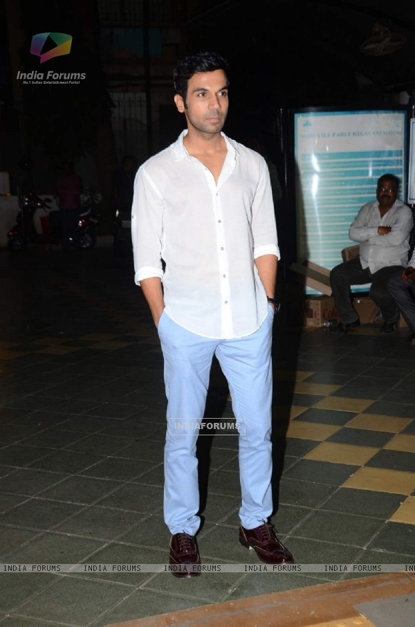 Raj Kumar Rao at Dadasaheb Phalke Film Foundation Award