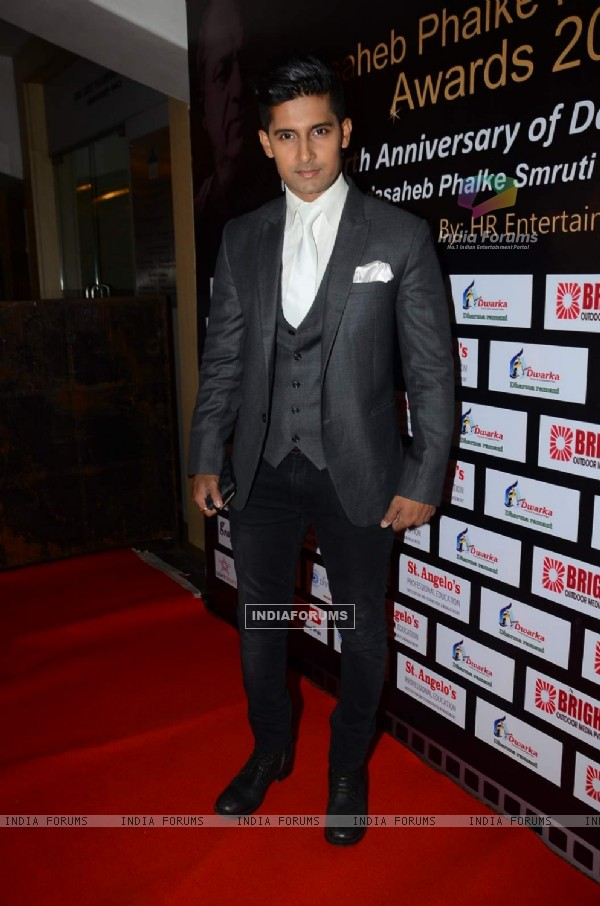 Ravi Dubey at Dadasaheb Phalke Film Foundation Award