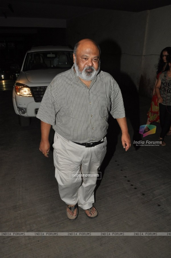 Saurabh Shukla Attends the Screening of OK Kanmani