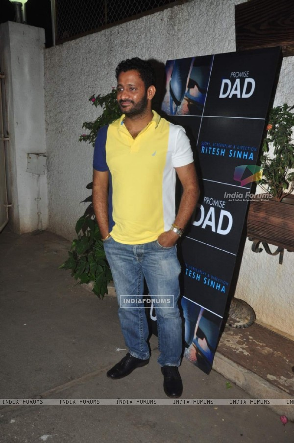 Resul Pookutty at Launch of the Movie Promise Dad