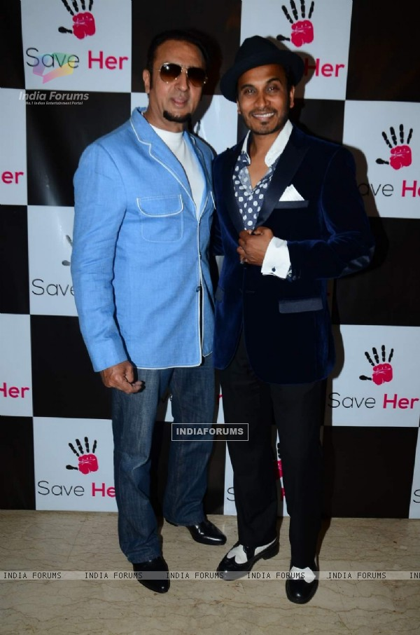 Gulshan Grover at an Event to Support Reggie Benjamin's Mission Save Her Campaign