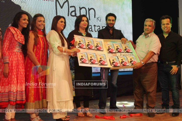 Farah Khan, Jeetendra and Shekhar at the NGO Event to Support Autistic Kids