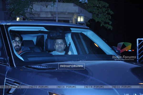 Mohit Suri Snapped at Karan Johar's Bash