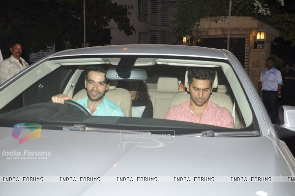 Punit Malhotra Snapped at Karan Johar's Bash