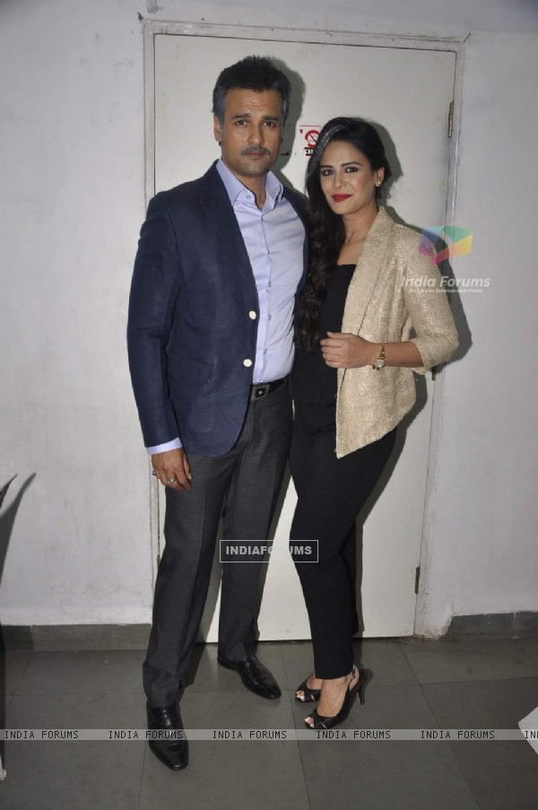Rohit Roy and Mona Singh at the Play 'Unfaithfully Yours'