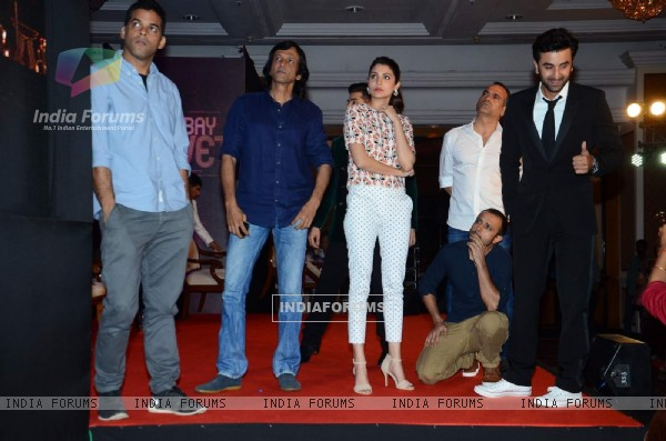 Bombay Velvet Team at 2nd Trailer Launch