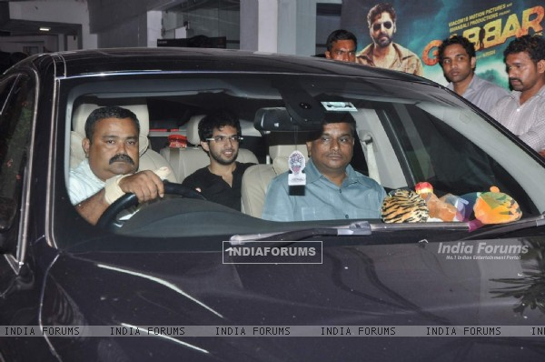 Aditya Thackeray attends Special Screening of Gabbar