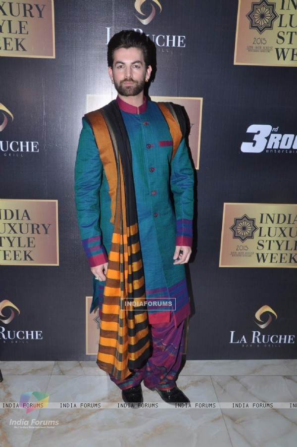 Neil Nitin Mukesh at India Luxury Style Week