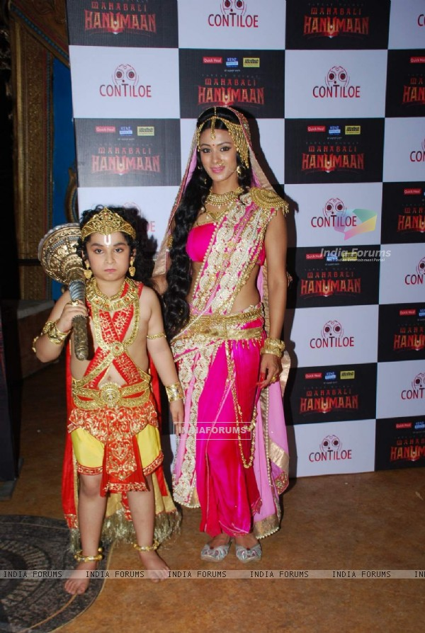 Barkha Bisht at Sankat Mochan Mahabali Hanuman Launch in Mumbai