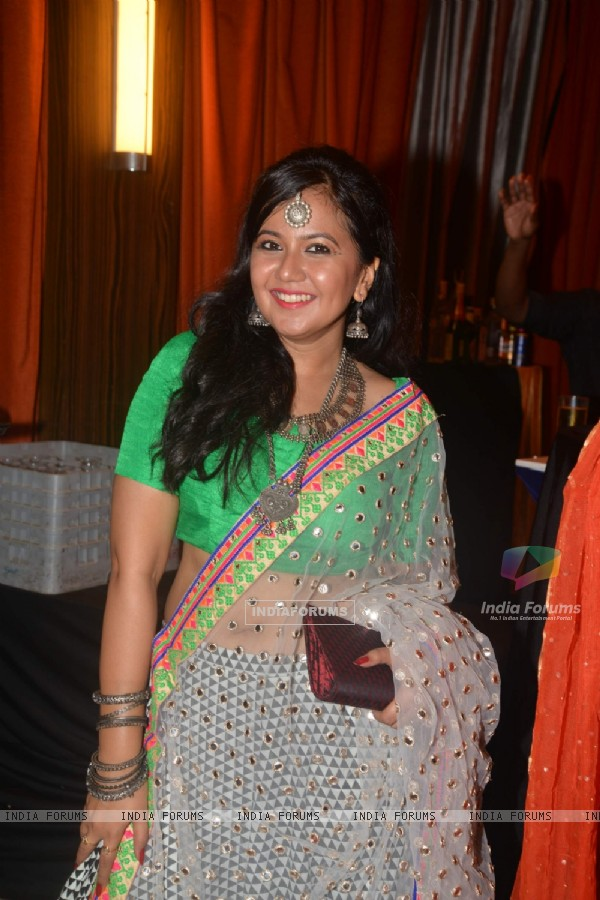 Roopal Tyagi at Karan Patel and Ankita's Sangeet Ceremony