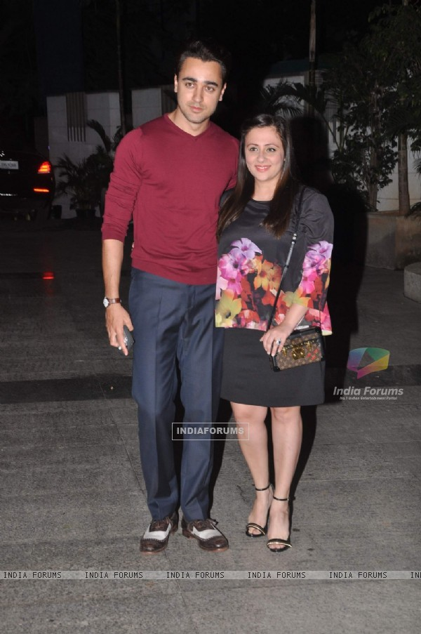 Imran Khan and Avantika at Priyanka and Kangana's Bash for Winning National Awards