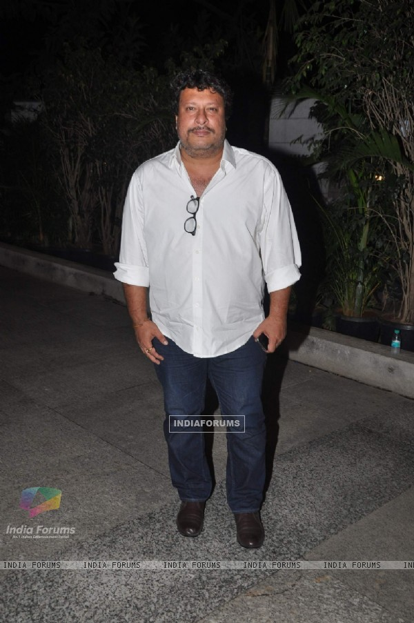 Tigmanshu Dhulia at Priyanka and Kangana's Bash for Winning National Awards