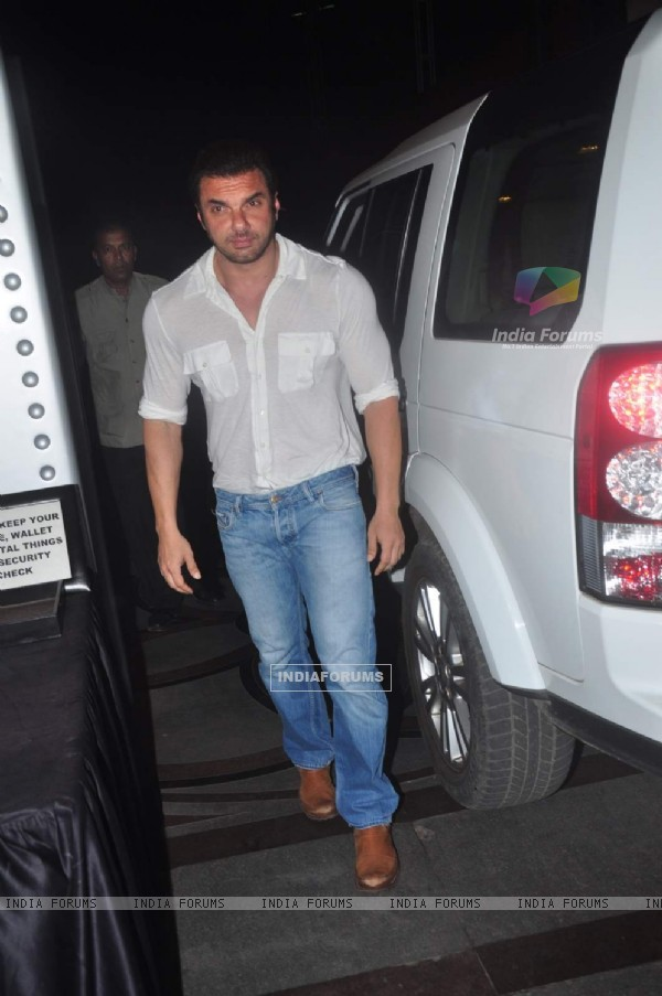 Sohail Khan at Abhishek Kapoor and Pragya Yadav's Wedding Bash