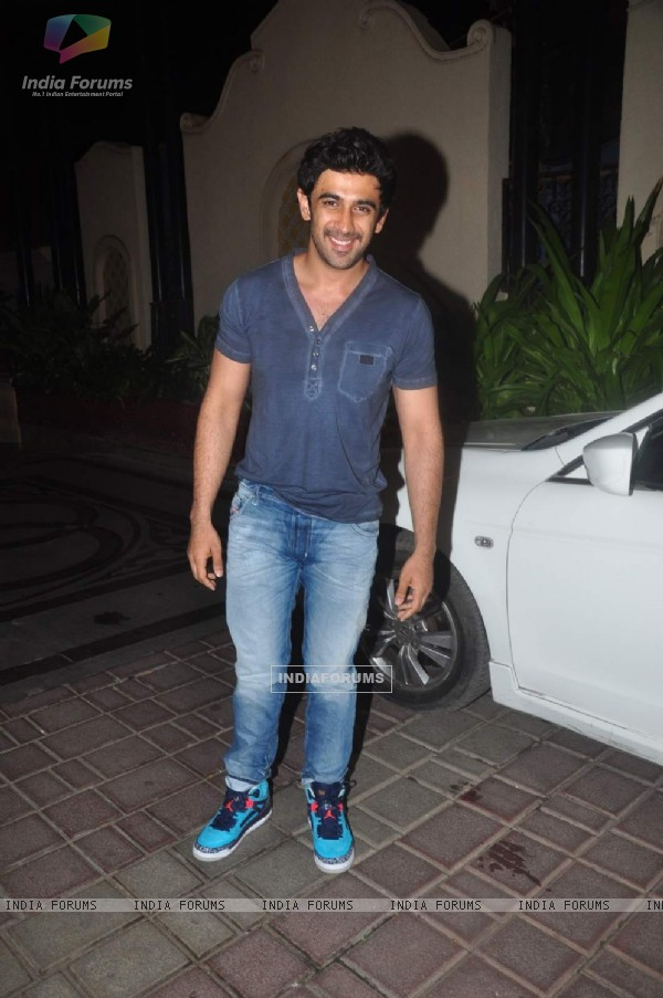 Amit Sadh at Abhishek Kapoor and Pragya Yadav's Wedding Bash