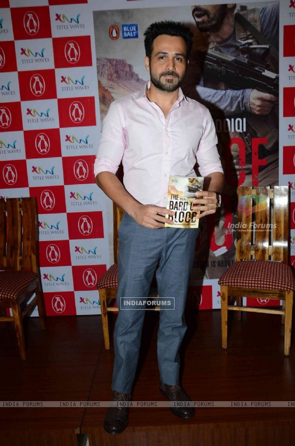 Emran Hashmi at Bilal Siddiqui's Book Launch