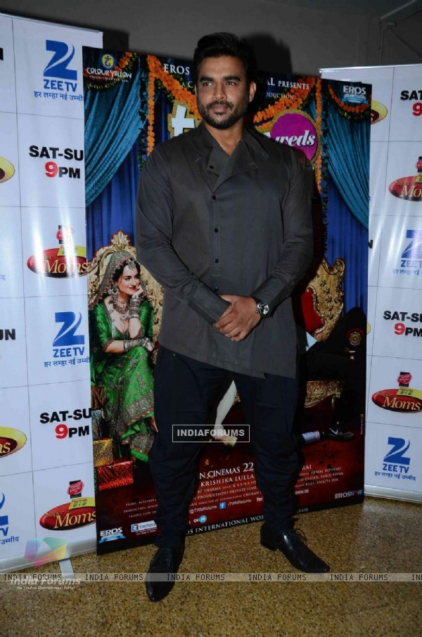 R. Madhavan at Promotions of Tanu Weds Manu Returns on DID Supermoms Season 2