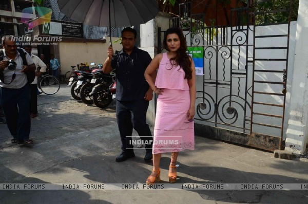 Rani Mukherjee Snapped at an AD Shoot