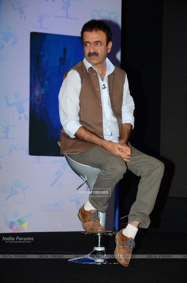Rajkumar Hirani at NDTV-Nirmal Marks for Sports Event