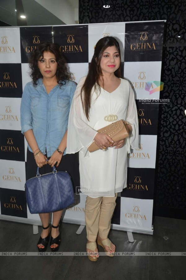 Alka Yagnik at Shaina NC's Collection Launch for Gehna