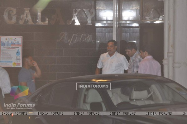 Kripashankar Singh Snapped at Salman's Residence (Galaxy Apartments)
