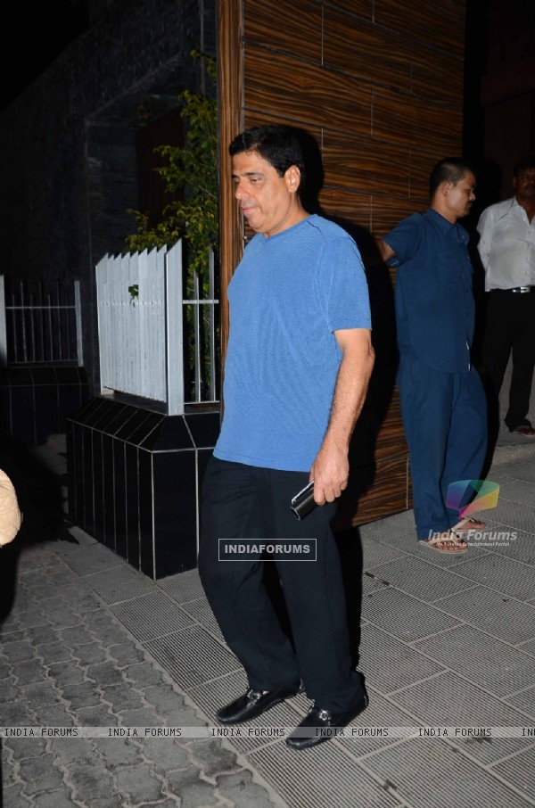 Ronnie Screwala at Aamir Khan's Bash