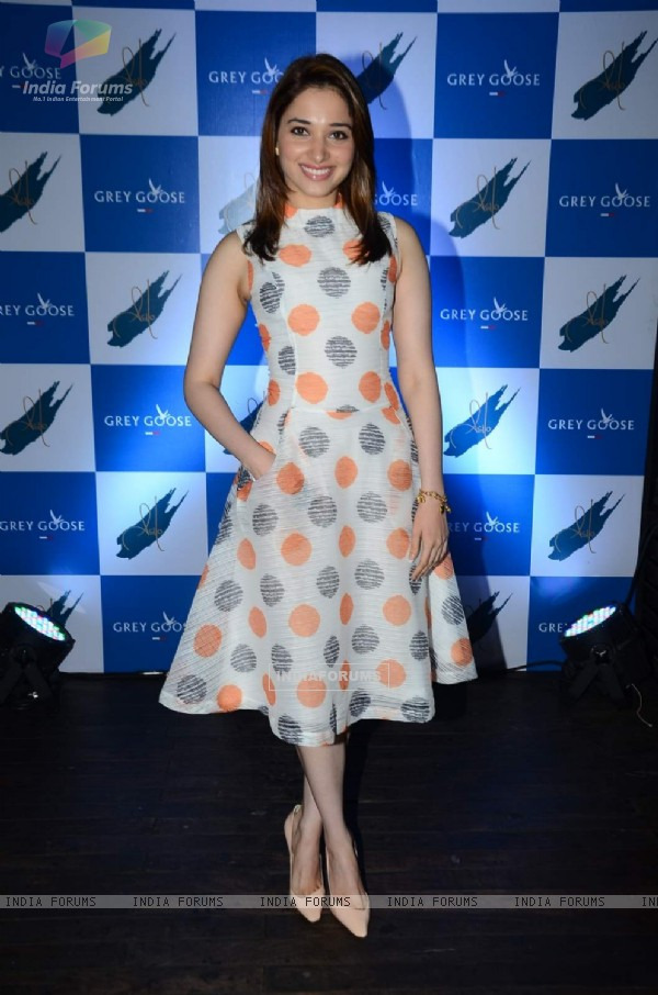 Tamannaah Bhatia at Grey Goose Cabana Couture Launch