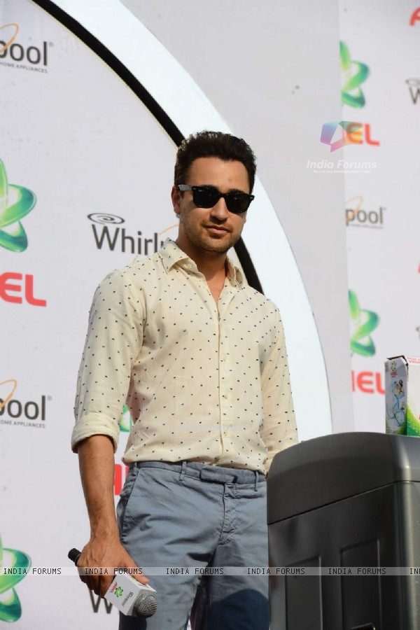 Imran Khan at Promotions of Ariel Matic