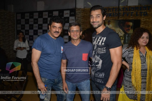 Rajesh Khattar and Hanif Hilal at Special Screening of Rann