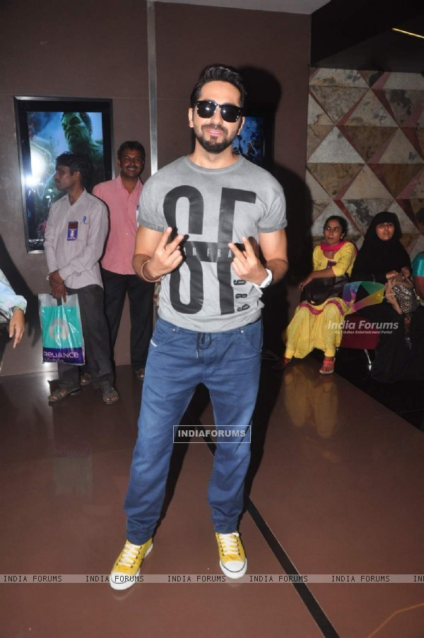 Ayushmann Khurrana at World Thalassemia Day Event