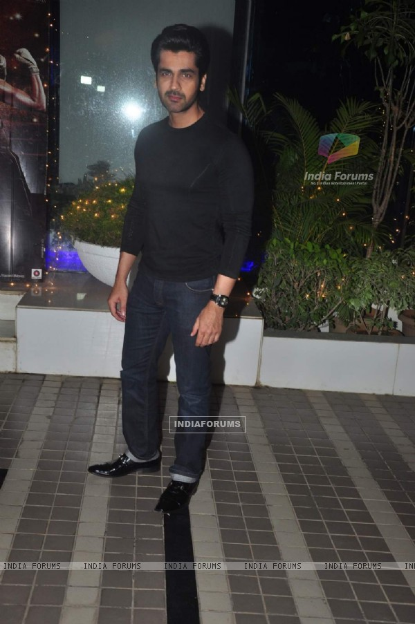 Arjan Bajwa at Success Bash of Mary Kom