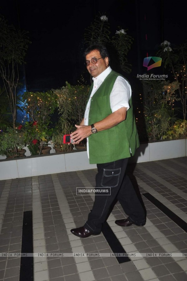 Subhash Ghai at Success Bash of Mary Kom