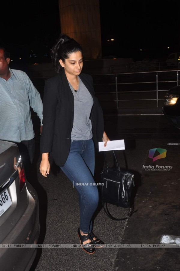 Rhea Kapoor Snapped at Airport