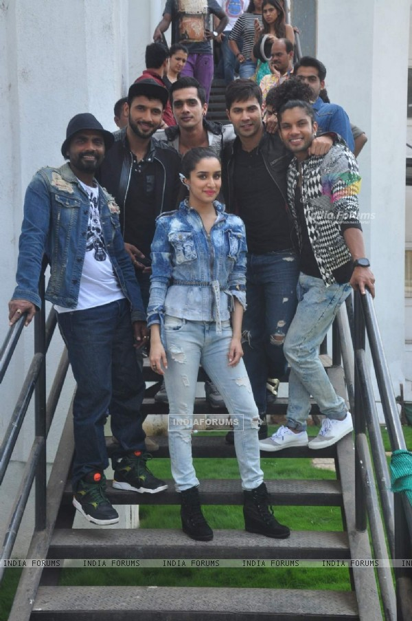 ABCD 2 Team on Nach Baliye 7 for Promotions
