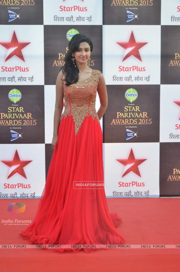 Farnaz Shetty at Star Parivaar Awards 2015