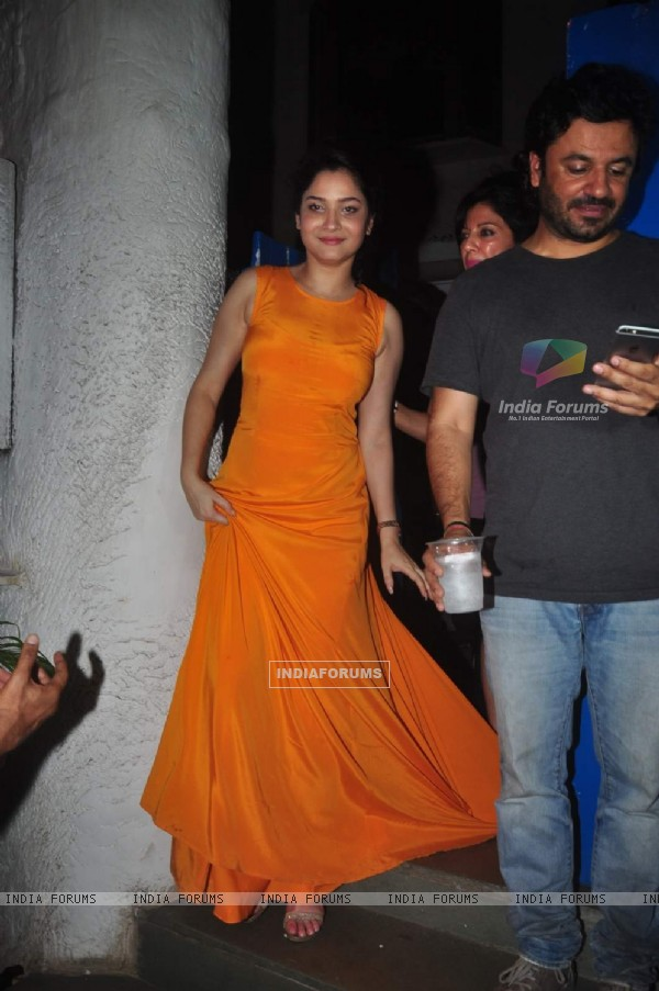Ankita Lokhande at Deepika's Success Bash for Piku!