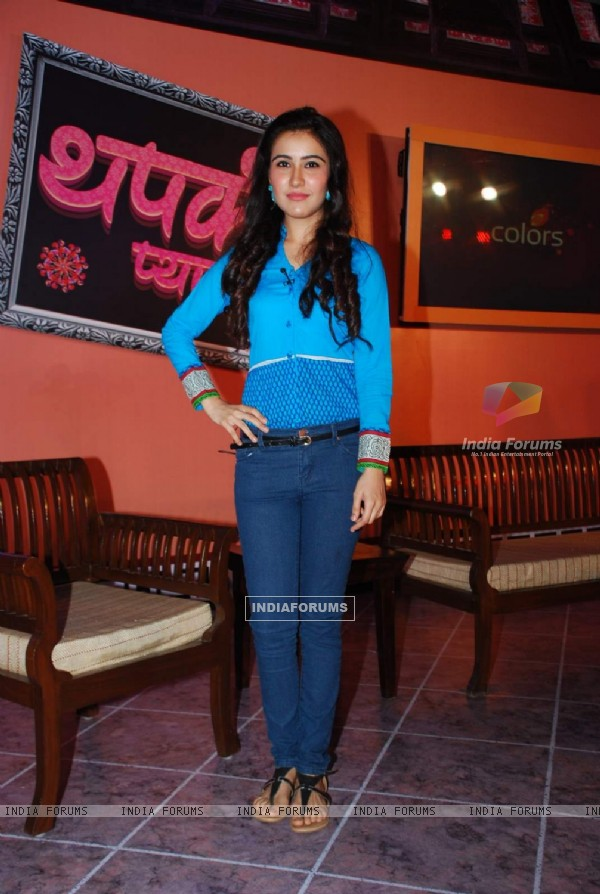 Sheena Bajaj at Colors Launches Thapki Pyar Ki
