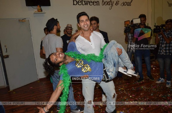 Varun Dhawan at Promotions of ABCD 2