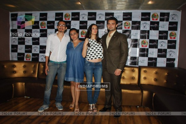 Mahaakshay and Evelyn Sharma Promotes Ishqedariyaan