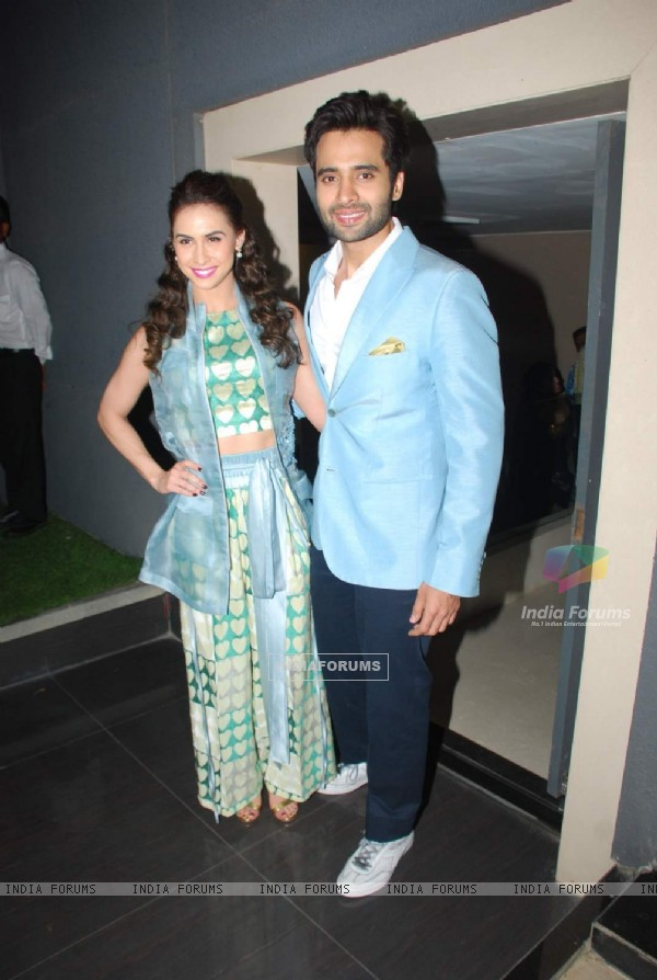 Jackky and Lauren at Music Launch of Welcome 2 Karachi