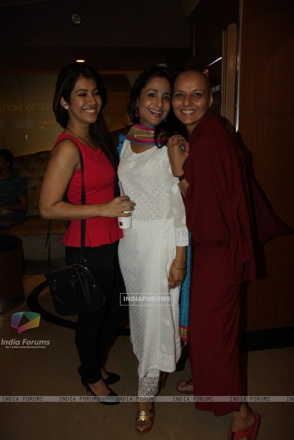 Ankita Bhargava and Lata Sabharwal at Special Screening of Surkhaab