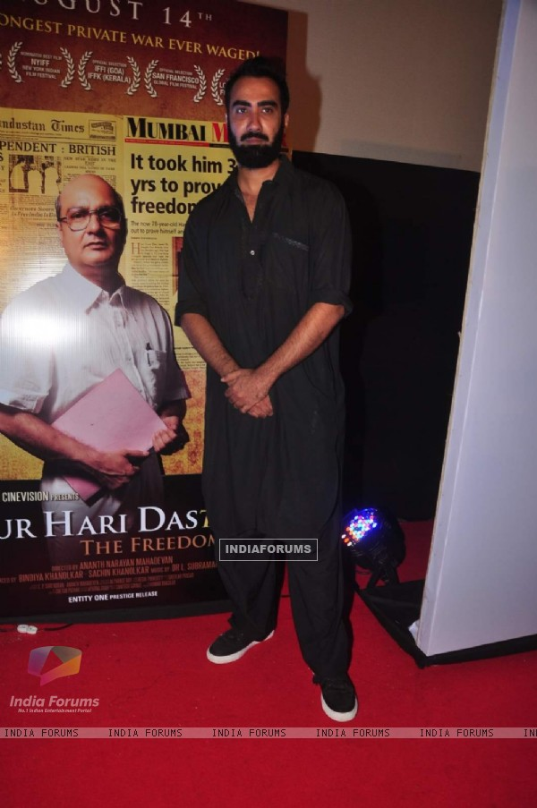 Ranvir Shorey at Gour Hari Daastan Film Launch