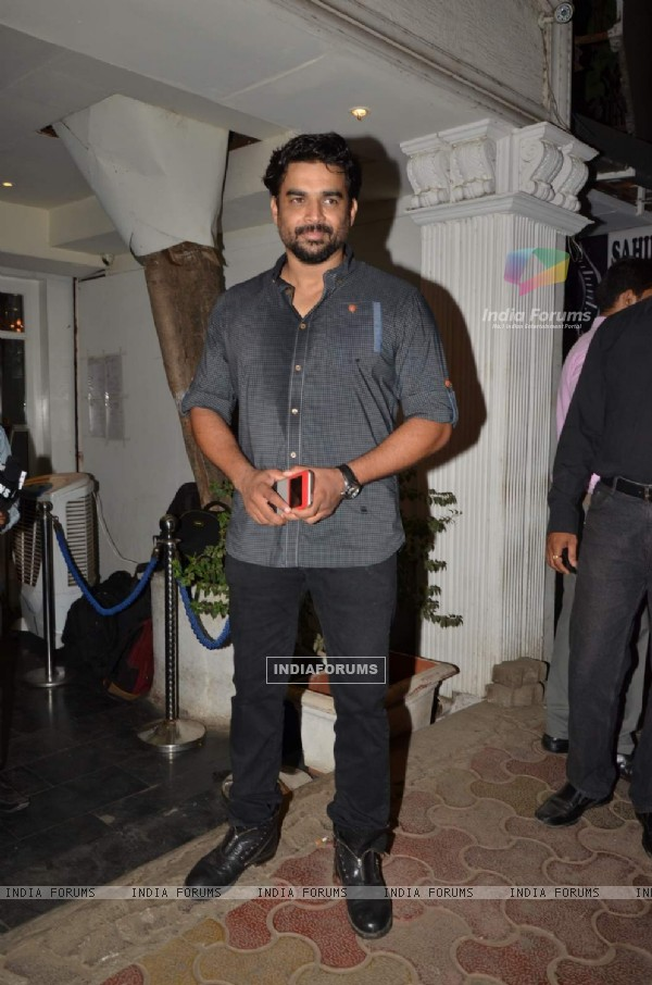 R. Madhavan at Mukesh Chhabra's Birthday Bash